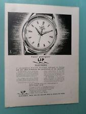 publicités ancienne LA MONTRE  LIP    (W5 )