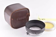 Canon  Metal Lens Hood for  50mm f1.4 Leica screw S-50 #710812