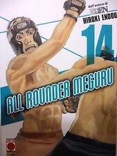 """ALL ROUNDER MEGURU n.14, di Hiroki Endou """" EDEN """", ed PANINI sconto 40%"""