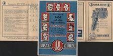 Lipsia, Pubblicità 1939, Hugo Preller ELETTRO-RADIO-grande atto Sabo -- TRAPANO upat