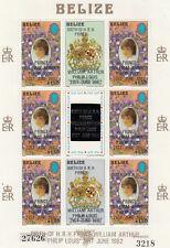 (74872) Belize MNH Prince William Birth 1982 unmounted mint