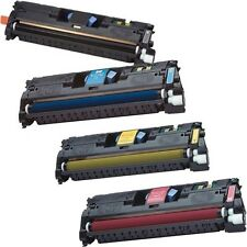 4/PK Color Toner Set for HP Q3960A Q3961A Q3962A Q3963A LaserJet 2550 2840 2830