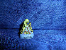 "GRINDYLOW LETTER ""A"" HARRY POTTER ABC Miniature Figurine FRENCH Porcelain FEVES"