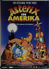 (Gerollt) Kinoplakat - Asterix in Amerika (1994)    #2175