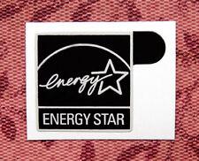 Energy Star Black Sticker 14.5 x 15.5mm Case Badge Logo Label USA Seller