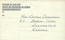 POW Camp 17 Sheffield 1947 German Prisoner of War Kriegsgefangenenpost (A69)