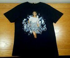 Carrie Underwood Live 2015 Concert Tour 100% Cotton T-Shirt Size L Men's Large
