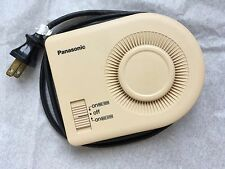 1970's  Men's Panasonic Portable Disc Travel Hair Dryer Dual Volt Disco Era
