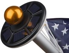 Sunnytech 2Nd Generation Solar Flag Pole 20Led Light,Brightest, Longest Lasting