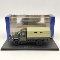 HAW ABTONPOM 1:43 GAZ C42A21 ГАЗ H234 Russia Truck Green Diecast Models Car