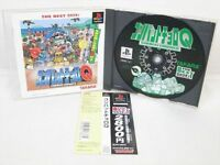 PS1 COMBAT CHORO Q The Best with SPINE CARD * Playstation PS Japan Game p1