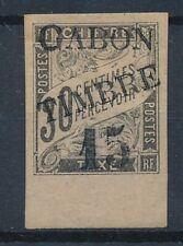 [7047] Gabon 1889 good stamp very fine MH val $500. Signed 2 times