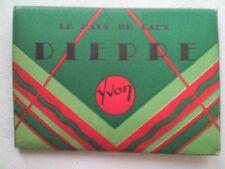 DIEPPE NORTH FRANCE.MINI PHOTOGRAPH SET,10 DELUX,1930-40 ?.PIAGE.AVANT-PORT