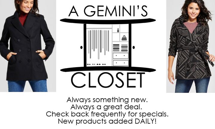 A Gemini's Closet
