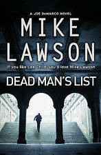 MIKE LAWSON __ DEAD MAN'S LIST __ BRAND NEW __ FREEPOST UK