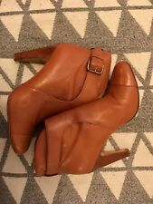 Ankle Camel High Hill Boots