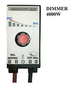 Dimmer AC 220V 4000W pwm scr triac regolatore tensione motori lampade ventole