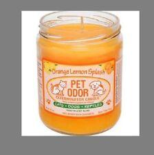 "Pet Odor Exterminator Candle "" Orange Lemon Splash """