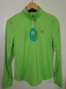 1 NWT GREG NORMAN WOMEN'S SHIRT, SIZE: SMALL, COLOR: GREEN (J50)