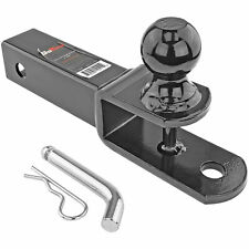 """ATV 3 In 1 Ball Mount Hitch w/ hitch Pin Fits 2"""" Receiver Class 3 w/ 6000lb GTW"""