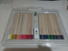 Studio Series Set of 30 Colored Pencils Adult Coloring Kit +Eraser and Sharpener