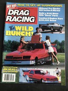 March 1985 Hot Rod Drag Racing Magazine-Jim Head-Pro Stock Profiles-John Force