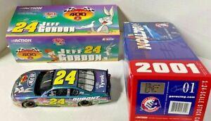 "2001 Action JEFF GORDON #24 DuPont ""Looney Tunes - Bugs Bunny"" - CHEVY M.C."