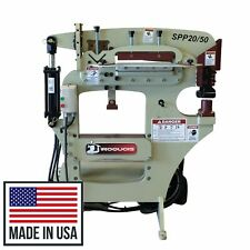 New 50 Ton Iroquois Hydraulic Ironworker Shear Press Punch Single Phase 230v