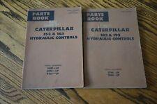 Caterpillar Parts Books Hydraulic Controls 153 163 183 193 Cat