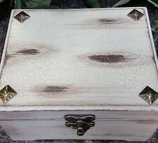 Distressed Wood Essential Oil Box, Essential Oil Safe, Essential Oil Storage