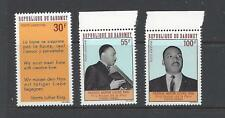 DAHOMEY REPUBLIC - C71- C73 - MNH - 1968 - MARTIN LUTHER KING