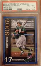 2008 Jamestown Jammers, Michael Stanton, Team Set, Rookie, 3 cards, PSA 6,7, & 8