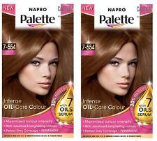 2 x Napro Palette INTENSE OIL-CARE COLOUR 7-554 Luminous Gold 100% Brand New
