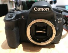 Canon EOS 60D 18.0MP Digital SLR Camera - Black (Body Only) - Used