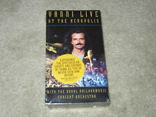 """Yanni """"LIVE At The Acropolis"""" With Royal Philharmonic Concert Orchestra. NEW VHS"""