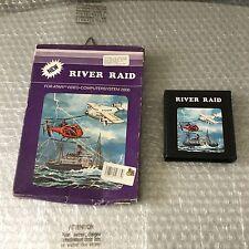 VINTAGE# EXTREMELY RARE PAL RIVER RAID ATARI 2600# FULL BOXED