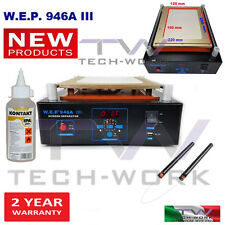 MACCHINA SEPARATRICE RIPARAZIONE VETRO LCD CELLULARE TABLET PIATTO ASPIRATO MAXI
