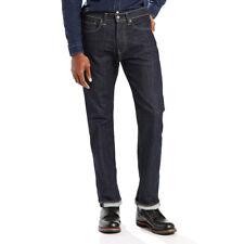 Levis Mens 505 Regular Fit Straight Leg Jeans Tumbled Rigid Tag Size 36x34