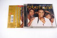 ETERNAL GREATEST HITS TOCP-50136 CD JAPAN OBI A4818