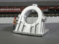 HO Scale Cast Angled Bearing Model Railroad Flatcar Load METALLIC