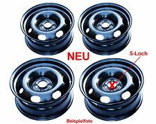 NEU 4x Stahlfelgen 5-Loch 7x16 ET44 für Peugeot 308 II, Citroen, Opel