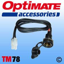 OptiMate / AccuMate DIN Socket Lead (TM78) UK Supplier & Warranty NEW