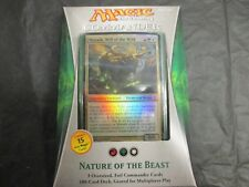 MTG Magic the Gathering - Factory Sealed -Eng Commander 2013 Nature of the Beast