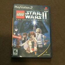 Sony PlayStation PS2 Video Game LEGO Star Wars II The Original Trilogy Rated E