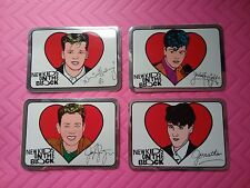 New Kids On The Block - NKOTB 4 - Foil Stickers (RARE/NM)