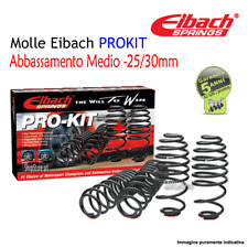 Molle Eibach PROKIT -25/30mm AUDI A3 III (8V1) 1.6 TDI Kw 81 Cv 110