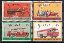 Guyana Stamp - Fire fighting equipment Stamp - NH