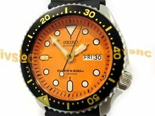 SEIKO SKX011 SKX011J1 Automatic 200m Diver NIB Made in Japan Orange !