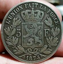 Belgium 1873 5 Francs