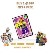 LEGO - #108 - HIPPIE - CREATE THE WORLD TRADING CARD - BESTPRICE + GIFT - NEW